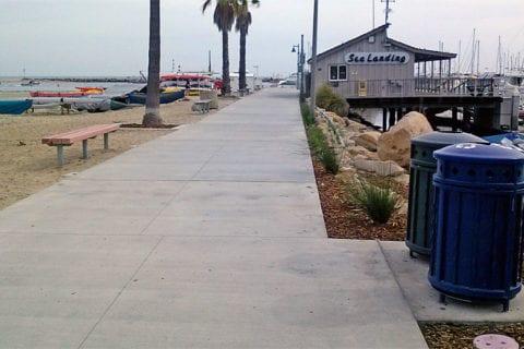 Sea Landing at Santa Barbara Harbor