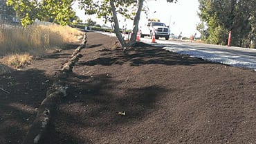 Rice Straw, Compost & Bark Mulch